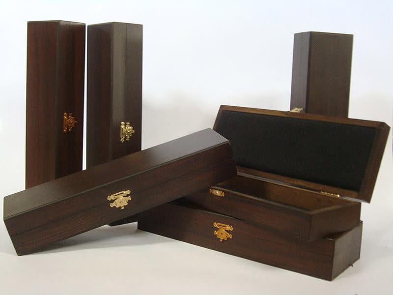 Caja de madera de lujo
